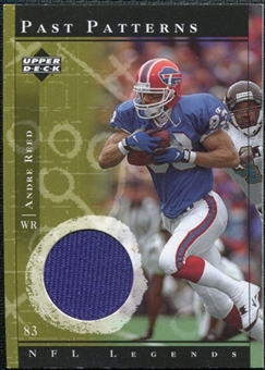 2001 Upper Deck Legends Past Patterns Jerseys #PPAR Andre Reed