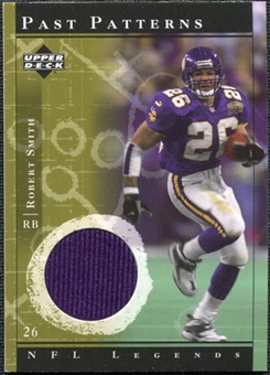 2001 Upper Deck Legends Past Patterns Jerseys #PPRSM Robert Smith
