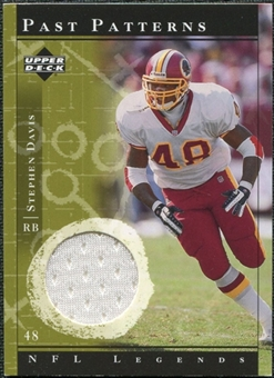 2001 Upper Deck Legends Past Patterns Jerseys #PPSD Stephen Davis