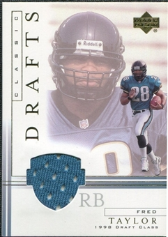 2001 Upper Deck Classic Drafts Jerseys #FTCD Fred Taylor