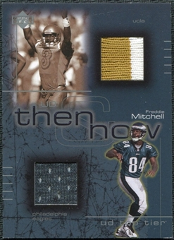 2001 Upper Deck Top Tier Then and Now Jerseys #TNFM Freddie Mitchell