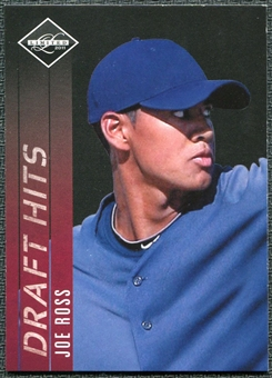 2011 Panini Limited Draft Hits #27 Joe Ross /249
