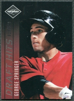 2011 Panini Limited Draft Hits OptiChrome #3 George Springer /199