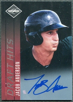 2011 Panini Limited Draft Hits Signatures #19 Jacob Anderson Autograph /299