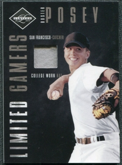 2011 Panini Limited Gamers Caps #5 Buster Posey /75