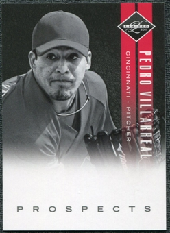 2011 Panini Limited Prospects #6 Pedro Villarreal /249