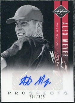 2011 Panini Limited Prospects Signatures #8 Alex Meyer Autograph /399