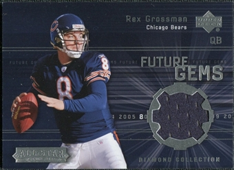 2004 Upper Deck UD Diamond All-Star Future Gems Jersey #FGRG Rex Grossman