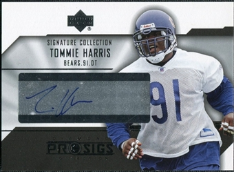 2004 Upper Deck UD Diamond Pro Sigs Signature Collection #SCTH Tommie Harris Autograph