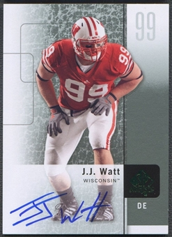 2011 SP Authentic #57 J.J. Watt Rookie Auto