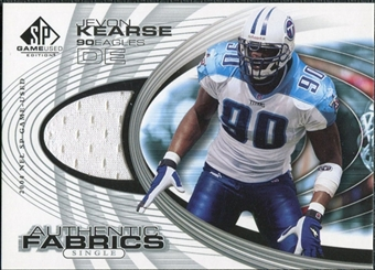 2004 Upper Deck SP Game Used Edition Authentic Fabric #AFJK Jevon Kearse