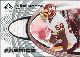 2004 Upper Deck SP Game Used Edition Authentic Fabric #AFLA LaVar Arrington