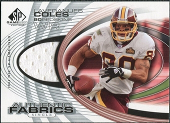 2004 Upper Deck SP Game Used Edition Authentic Fabric #AFLC Laveranues Coles