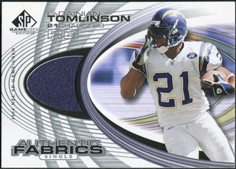 2004 Upper Deck SP Game Used Edition Authentic Fabric #AFLT LaDainian Tomlinson