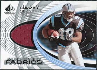 2004 Upper Deck SP Game Used Edition Authentic Fabric #AFSD Stephen Davis