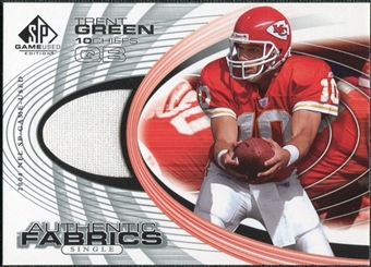 2004 Upper Deck SP Game Used Edition Authentic Fabric #AFTR Trent Green