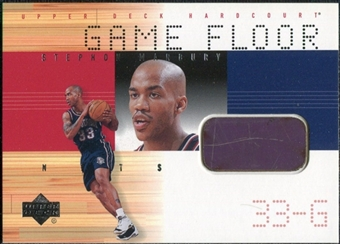 2000/01 Upper Deck Hardcourt Game Floor #SMF Stephon Marbury