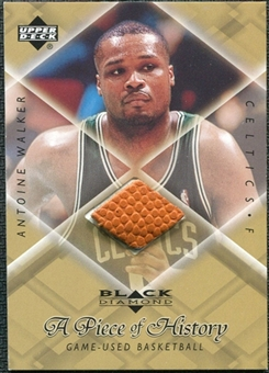 1999/00 Upper Deck Black Diamond A Piece of History #AW Antoine Walker H