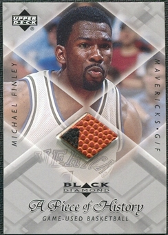 1999/00 Upper Deck Black Diamond A Piece of History #MF Michael Finley H/R