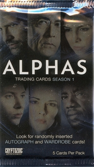 Alphas Season One Trading Cards Pack (Cryptozoic)