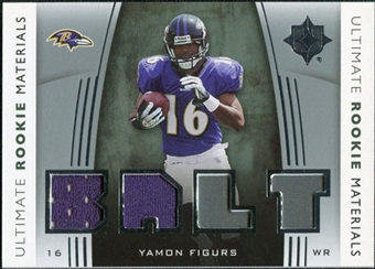 2007 Upper Deck Ultimate Collection Rookie Materials Silver #URMYF Yamon Figurs