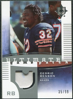 2007 Upper Deck Ultimate Collection Game Patches #UGPCB Cedric Benson /99
