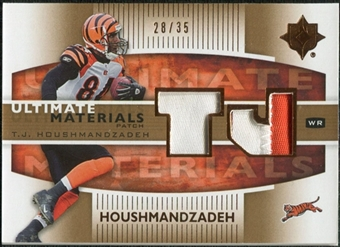 2007 Upper Deck Ultimate Collection Materials Patches #UMHO T.J. Houshmandzadeh /35