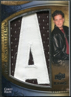 2009 Upper Deck Icons Movie Lettermen #MLCH Corey Haim/111/(Letters spell out LUCAS/ Total print run 555) /555