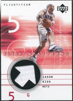 2001/02 Upper Deck Flight Team Flight Patterns #JK Jason Kidd