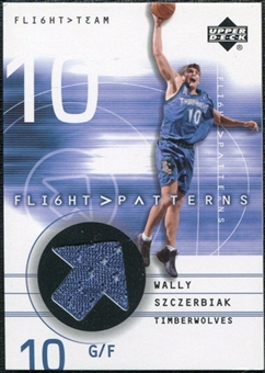 2001/02 Upper Deck Flight Team Flight Patterns #WS Wally Szczerbiak