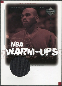 2000/01 Upper Deck Encore NBA Warm-Ups #JSW Jerry Stackhouse