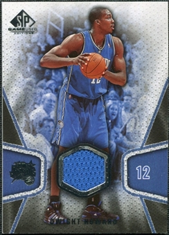 2007/08 Upper Deck SP Game Used #117 Dwight Howard Jersey