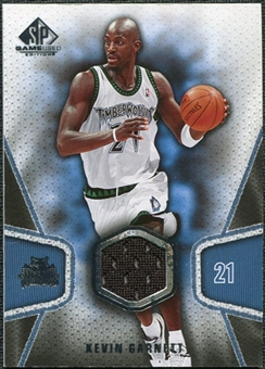 2007/08 Upper Deck SP Game Used #124 Kevin Garnett Jersey