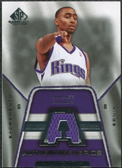 2007/08 Upper Deck SP Game Used Authentic Fabrics #AFQD Quincy Douby