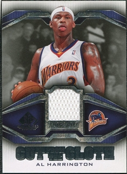 2007/08 Upper Deck SP Game Used Cut from the Cloth #CCAH Al Harrington