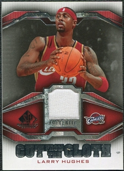2007/08 Upper Deck SP Game Used Cut from the Cloth #CCLH Larry Hughes