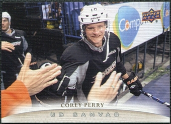 2011/12 Upper Deck Canvas #C121 Corey Perry