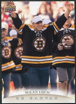 2011/12 Upper Deck Canvas #C124 Milan Lucic