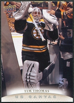 2011/12 Upper Deck Canvas #C125 Tim Thomas