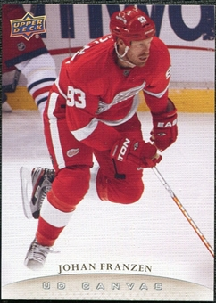 2011/12 Upper Deck Canvas #C147 Johan Franzen