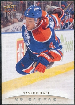 2011/12 Upper Deck Canvas #C151 Taylor Hall