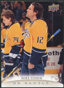 2011/12 Upper Deck Canvas #C162 Mike Fisher