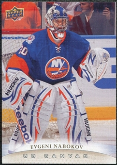 2011/12 Upper Deck Canvas #C169 Evgeni Nabokov