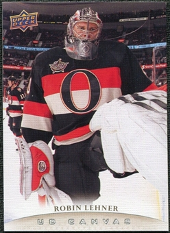 2011/12 Upper Deck Canvas #C176 Robin Lehner