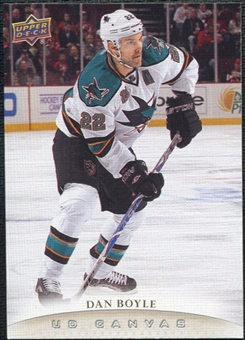 2011/12 Upper Deck Canvas #C187 Dan Boyle