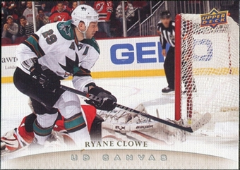 2011/12 Upper Deck Canvas #C190 Ryane Clowe