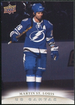 2011/12 Upper Deck Canvas #C193 Martin St. Louis