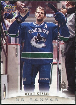 2011/12 Upper Deck Canvas #C201 Ryan Kesler