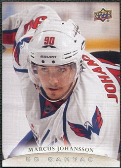 2011/12 Upper Deck Canvas #C203 Marcus Johansson