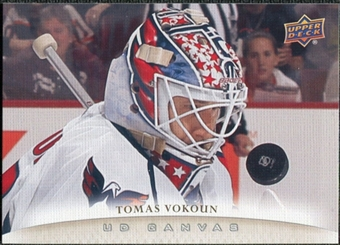 2011/12 Upper Deck Canvas #C206 Tomas Vokoun